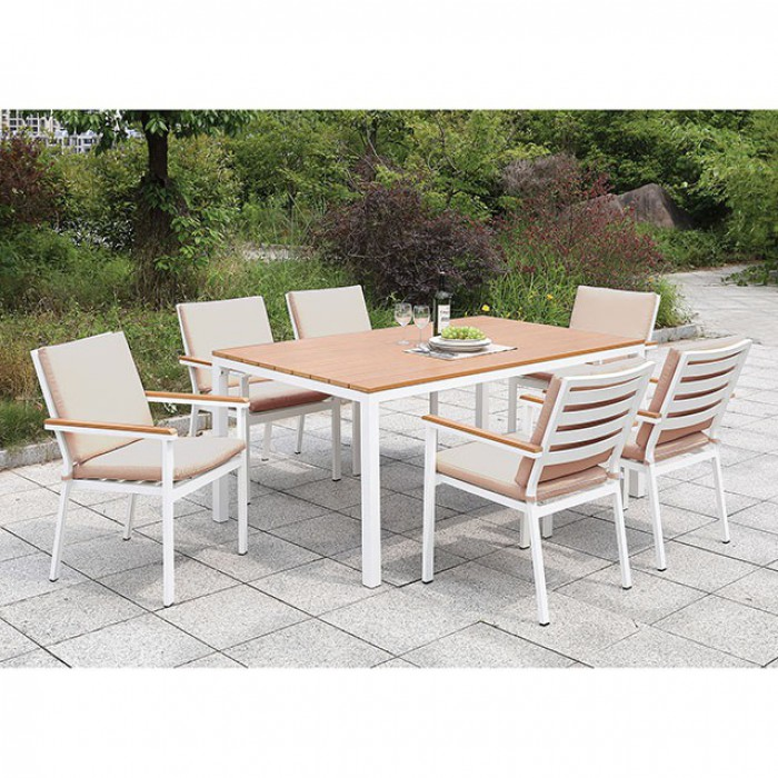 Complete Patio Dining Table Set