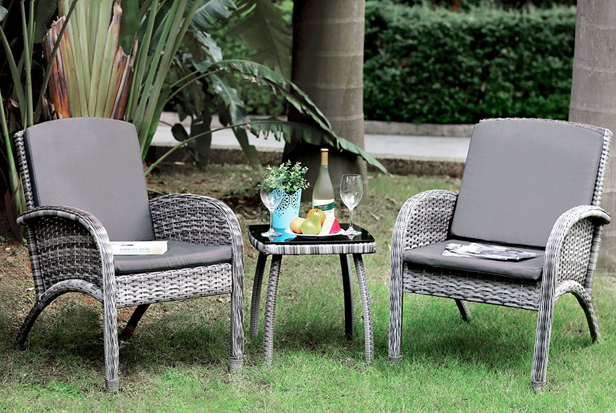 Complete 3 Piece Patio Seating Set