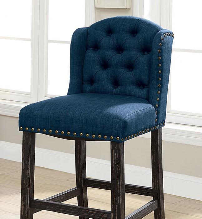 Blue Bar Chair Closer Details