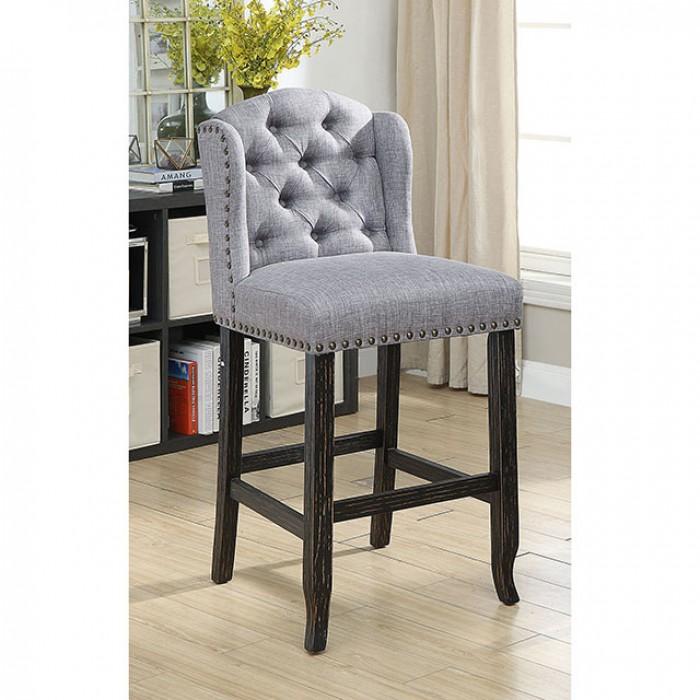 Light Gray Bar Chair