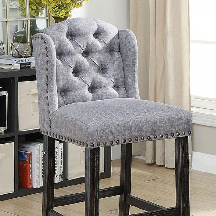 Light Gray Bar Chair Closer Details