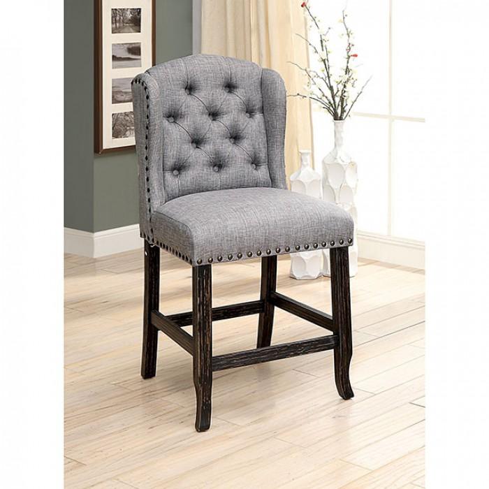 Light Gray Counter Height Chair