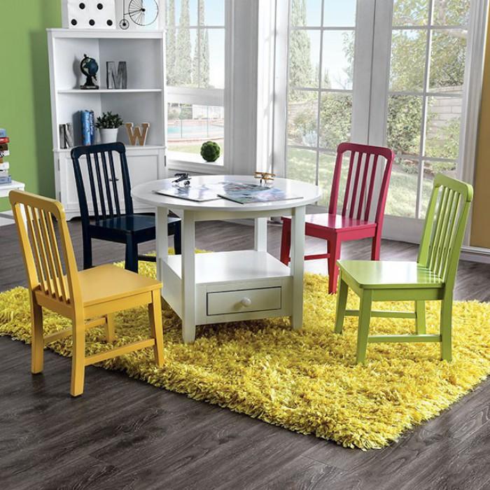 5 Piece Circular Table Set
