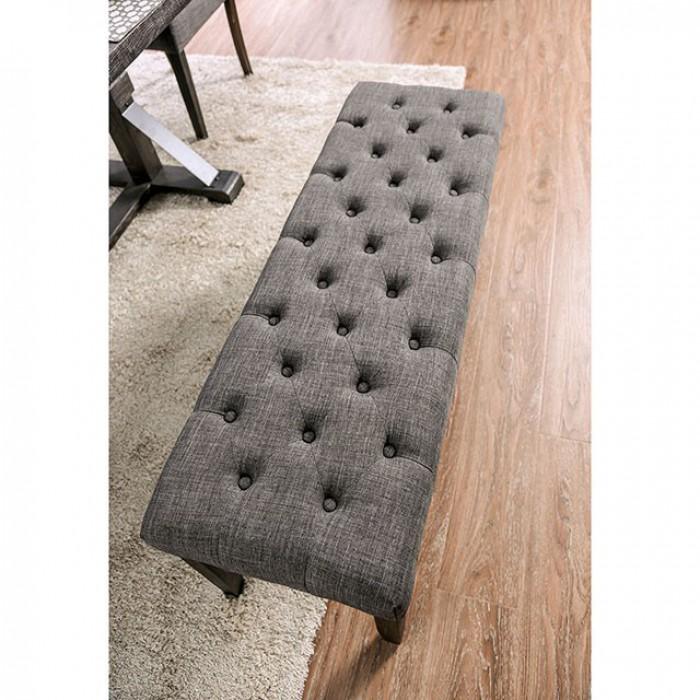 Gray Bench Top Angle
