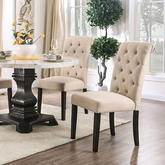 Ivory Side Chairs