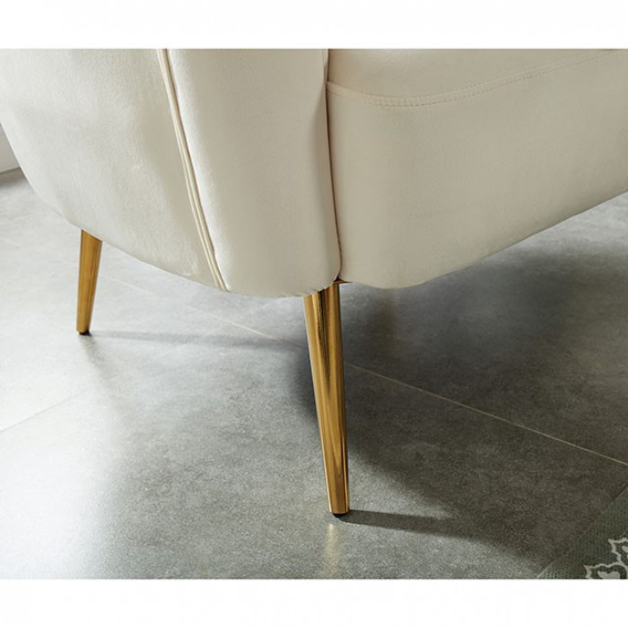 Ivory Accent Chair Legs