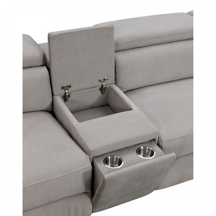 Hidden Cup Holders and Storage