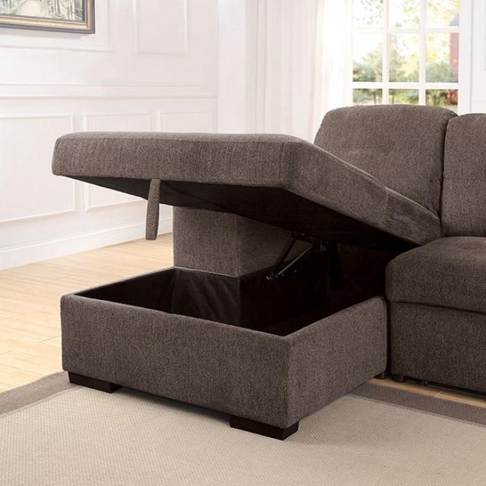 Open Chaise Storage