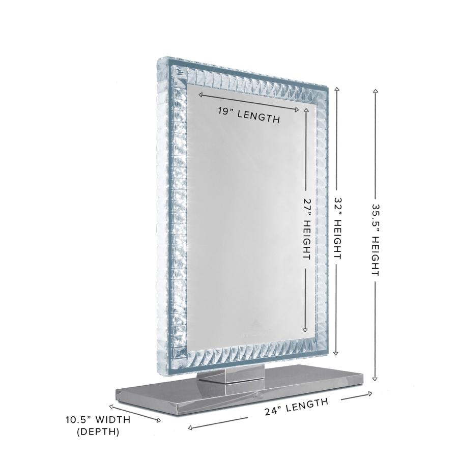 Table Top Mirror Dimensions