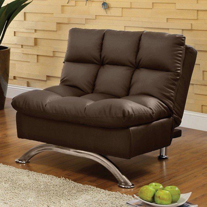 Dark Brown Futon Chair