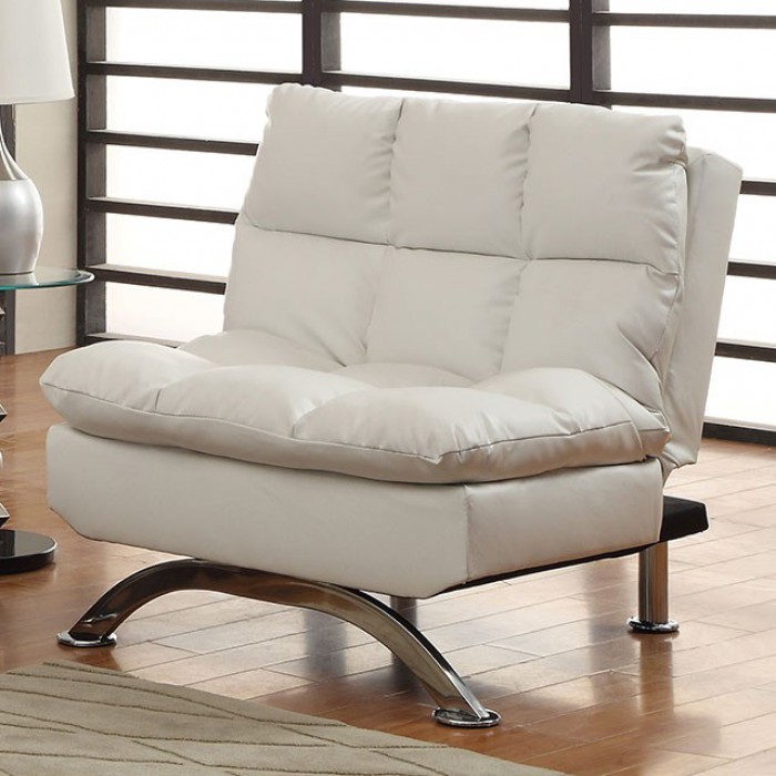 White Futon Chair
