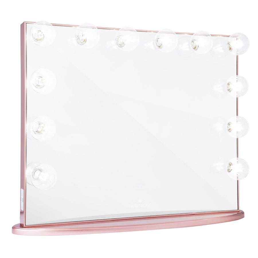 Rose Gold Hollywood Glow® Plus Vanity Mirror