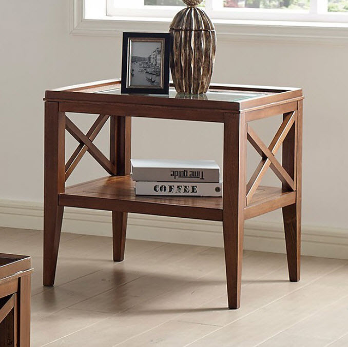 Dark Oak End Table