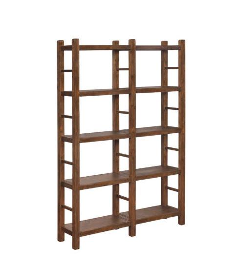 Double Book Shelf