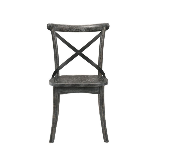 Rustic Gray Chair