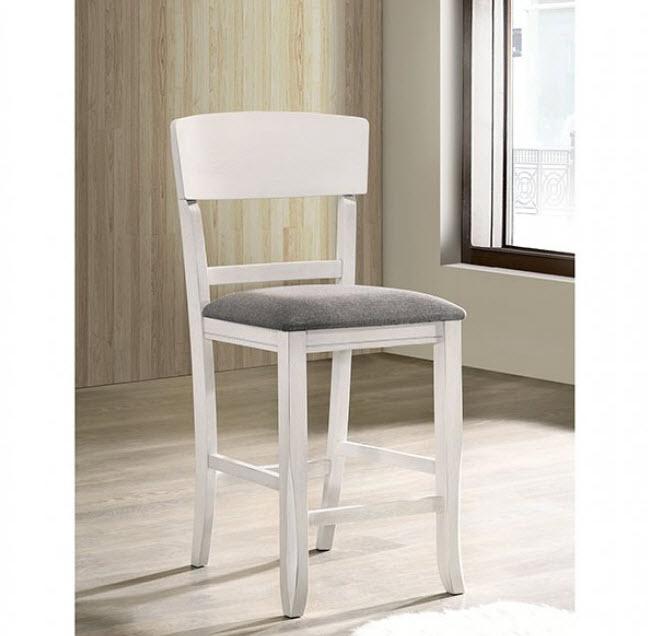 White/Gray Chair