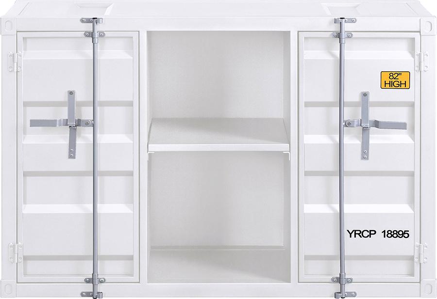 White Server Front