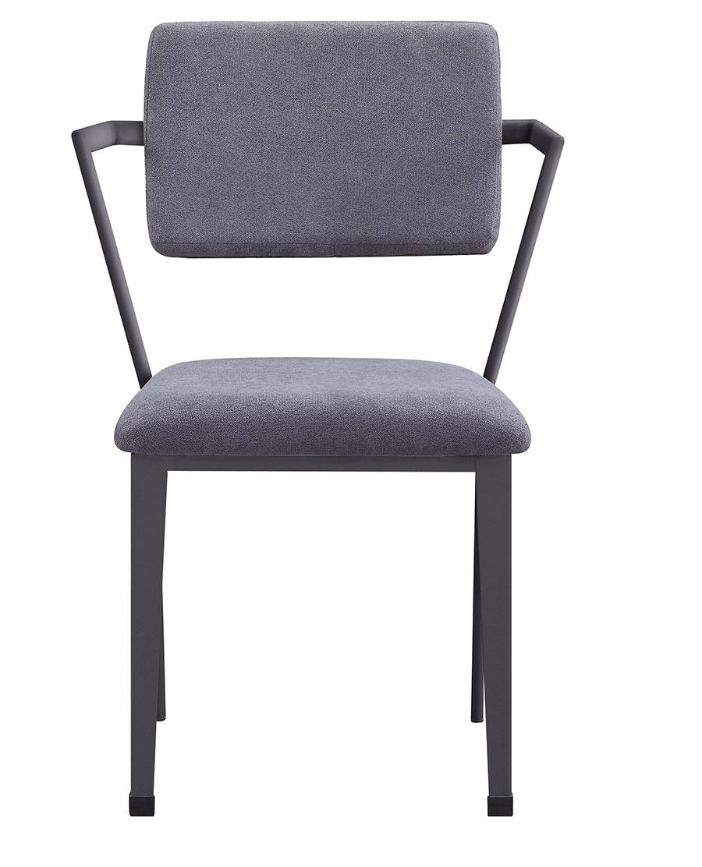 Gunmetal Arm Chair Front