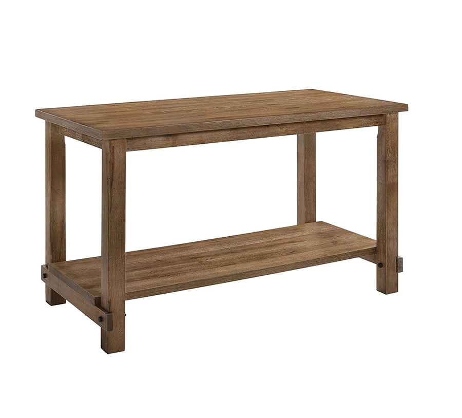Weathered Oak Counter Height Table