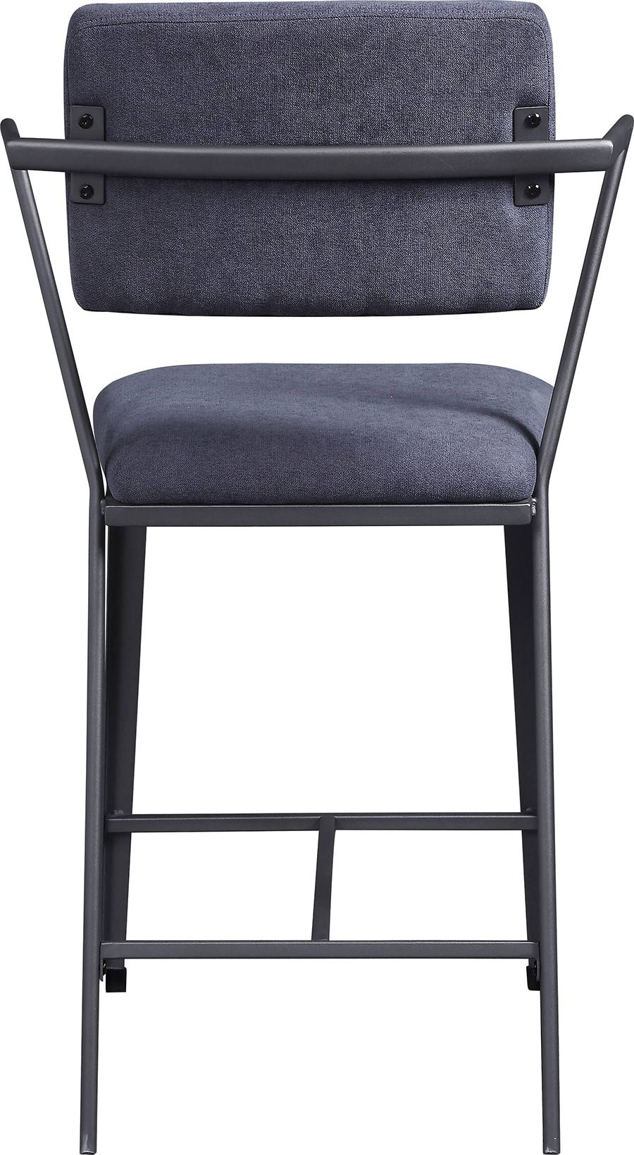 Gunmetal Counter Height Chair Back