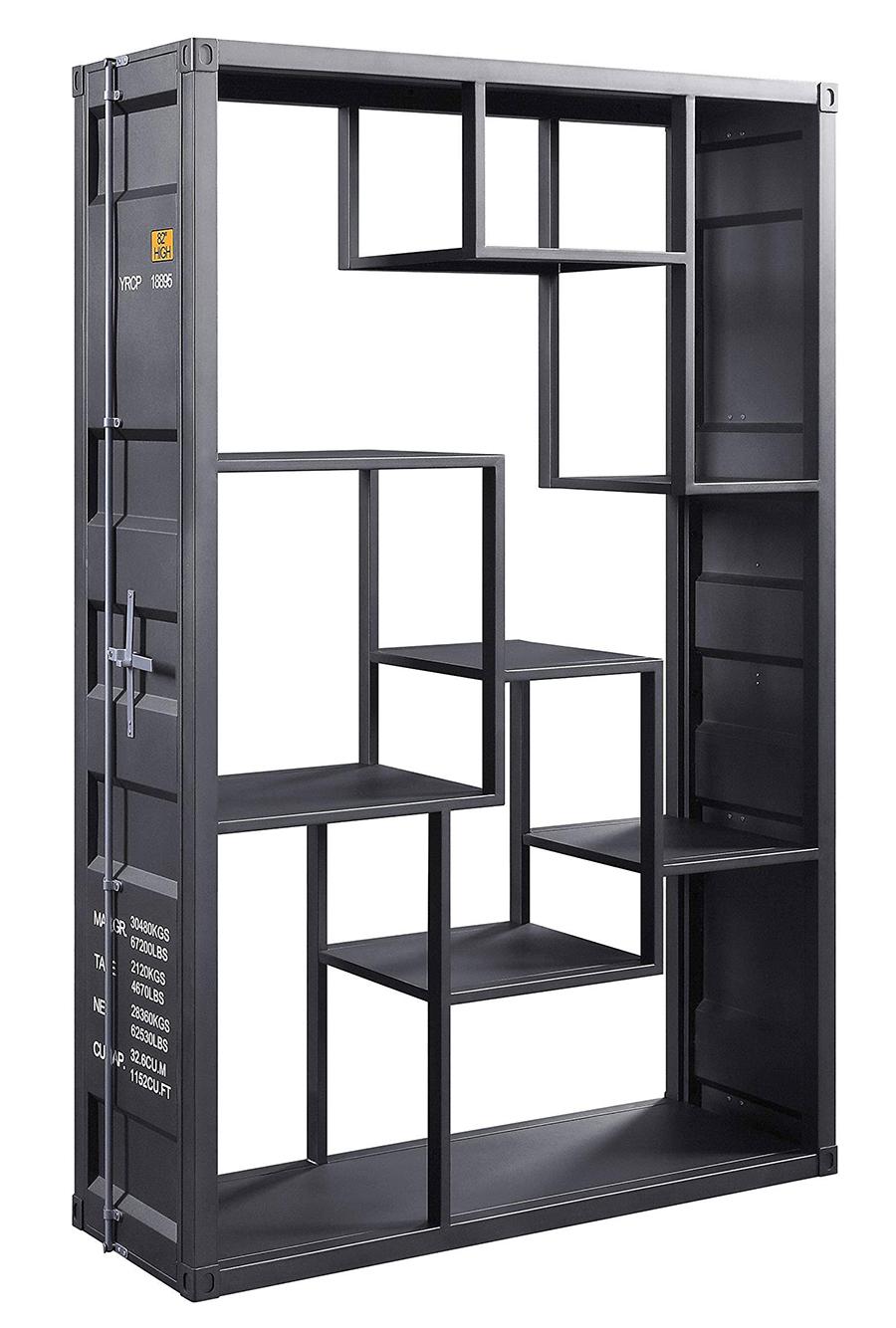Gunmetal Shelf Rack Angle
