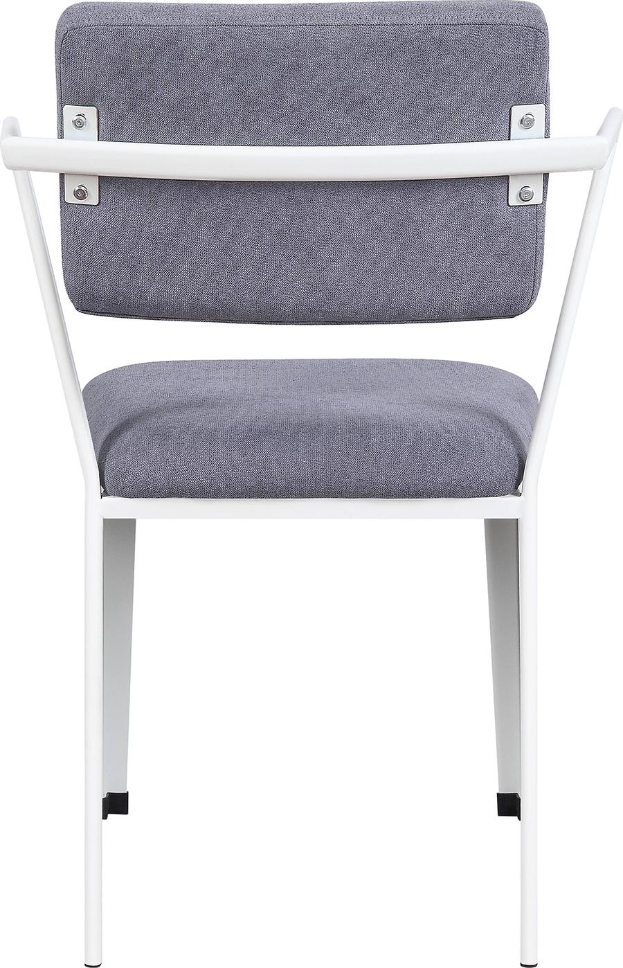 White Arm Chair Back