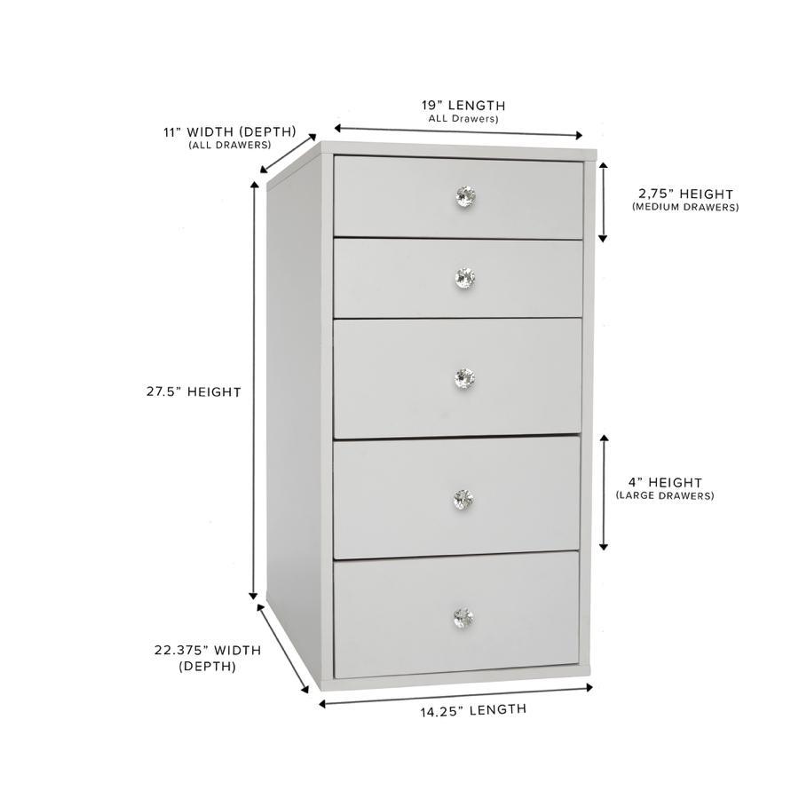 Vanity Storage Unit Dimensions