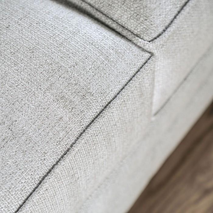 Gray Seat Upholstery Finish
