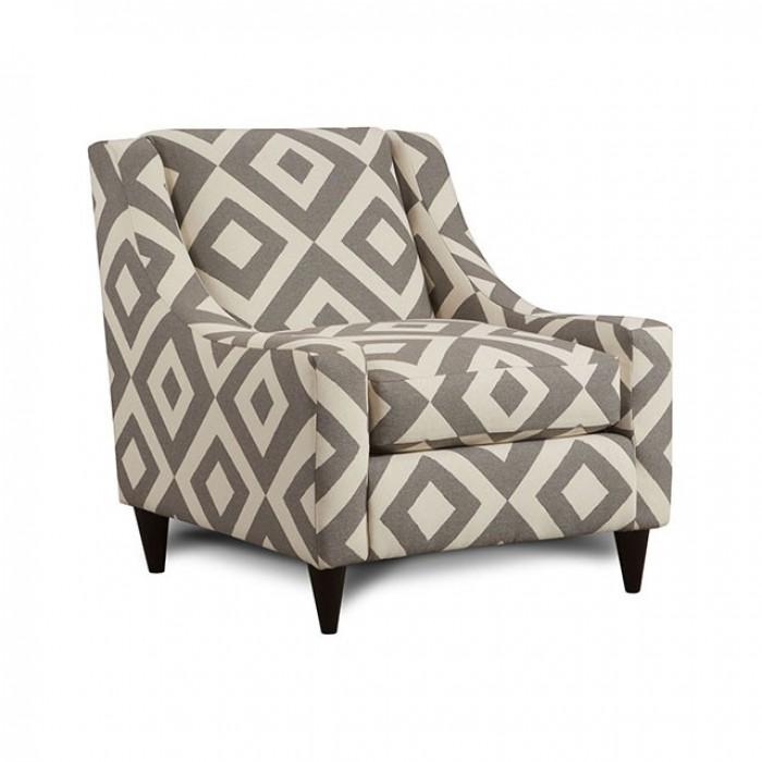 Diamond Pattern Chair