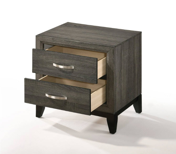 Nightstand Drawers Open