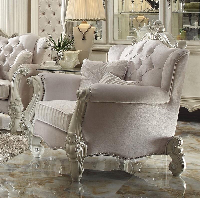 Bone White Chair