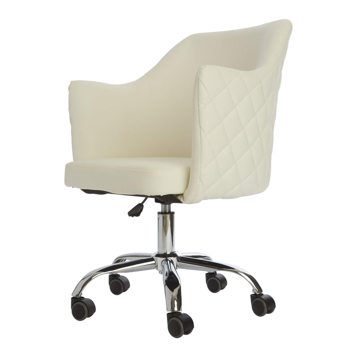 White Vanity Chair